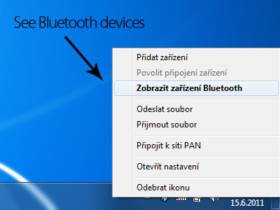 See Bluetooth devices